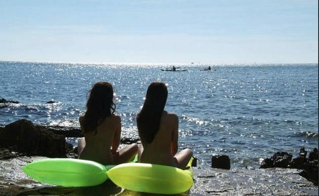 Et famille naturisme Vacances naturistes