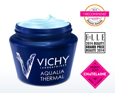 vichy creme aqualia thermal soin beauté nuit