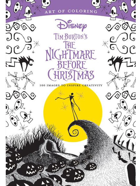 Tim Burton The Nightmare Before Christmas - Livre à colorier